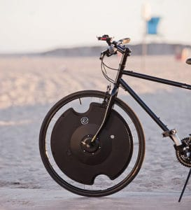 Read more about the article Convert Your Bicycle To Electric In 30 Seconds With The Electron Wheel