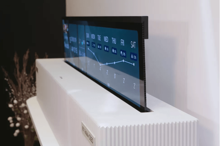 You are currently viewing LG's rollable OLED TV