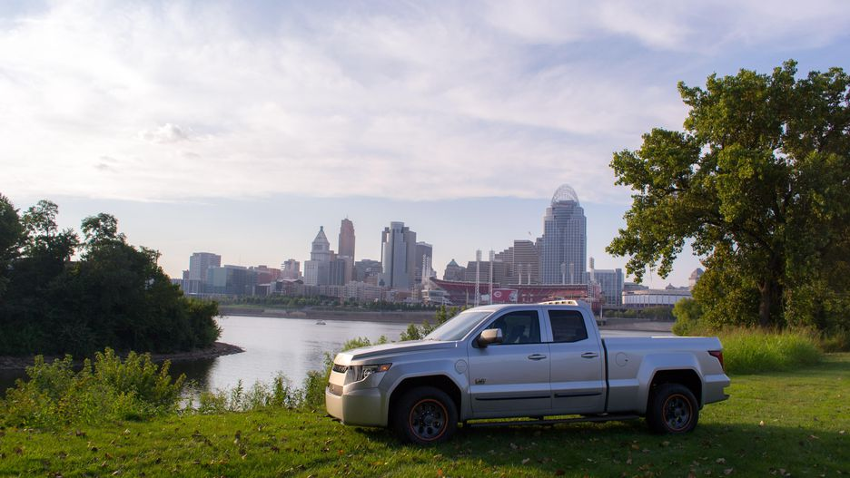 You are currently viewing Workhorse W-15 electric pickup truck