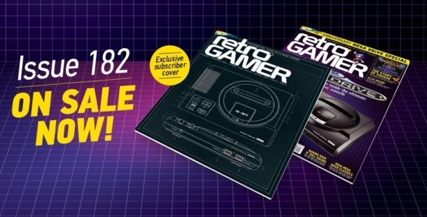 You are currently viewing DON'T MISS RETRO GAMER ISSUE 182